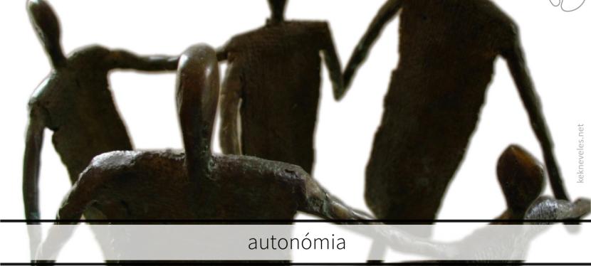autonómia, autonóm személyiség